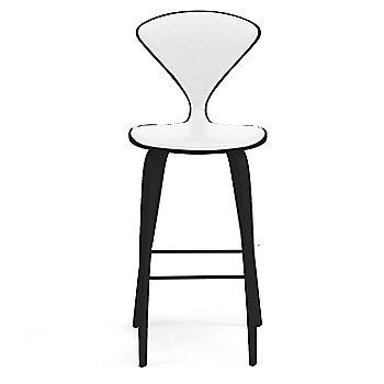 Ebony Lacquer finish / Upholstery Selection Sabrina Leather White