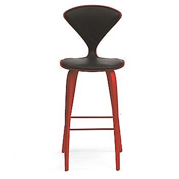 Stella Orange finish / Upholstery Selection Vincenza Leather VZ-BLCK