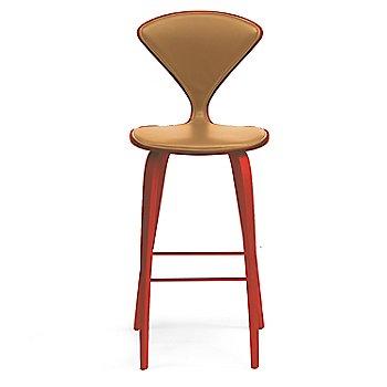 Stella Orange finish / Upholstery Selection Vincenza Leather VZ-2125
