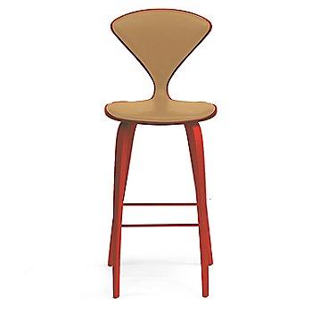 Stella Orange finish / Upholstery Selection Sabrina Leather Monarch