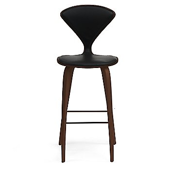 Classic Walnut finish / Upholstery Selection Sabrina Leather Black