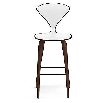 Classic Walnut finish / Upholstery Selection Sabrina Leather White