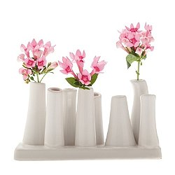 Pooley 2 - 8-Tube Long Vase