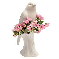 Nature Porcelain Bird Vase