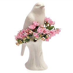 Nature Porcelain Bird Vase