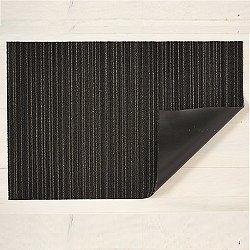 Mixed Skinny Stripe Shag Indoor/Outdoor Mat (Steel/Ut) - OPEN BOX