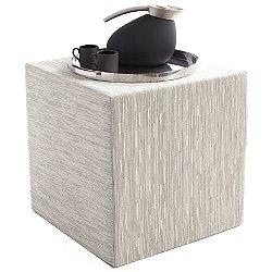 Bamboo Cube Pouf