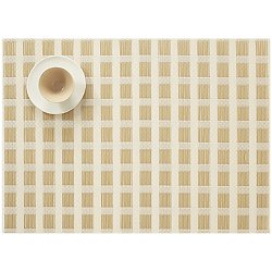 Stitch Placemat by Chilewich (Gold) - OPEN BOX RETURN