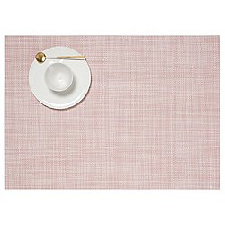 Mini Basketweave Placemat byChilewich(Blush)-OPEN BOX RETURN
