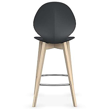 Counter Stool size / Matte Grey Seat / Bleached Beech finish
