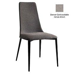 Etoile Chair, Metal (Matte Black /Denver Cord) - OPEN BOX RETURN