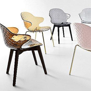 Graphite / Smoke Ashwood frame / Transparent Amber Seat