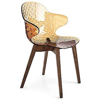 Smoke Ashwood Frame / Transparent Amber Seat