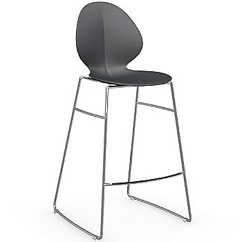Shown in Matte Grey, Counterstool
