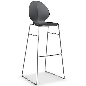 Shown in Matte Grey, Barstool