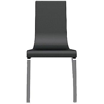 Shown in Leather Black, Chromed finish