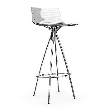 Transparent / Chromed / Barstool