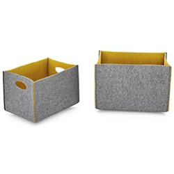 Dorian Storage Box, Set of 2