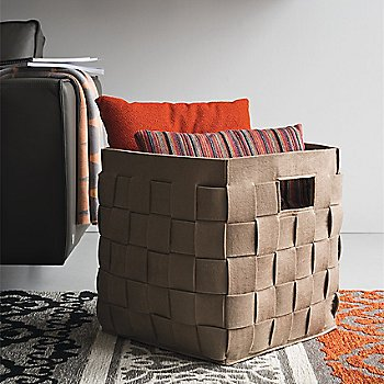 Connor Storage Basket, in use