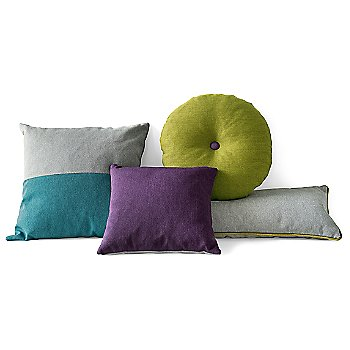 Clips Throw Pillow Set