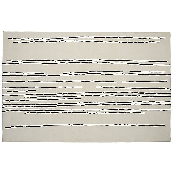 White with Black Lines / 78.7 in x 118.1 in size