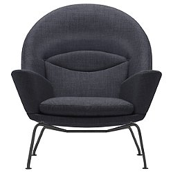 CH468 Oculus Lounge Chair - Black Edition