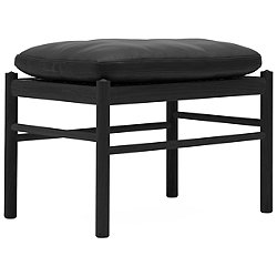 OW149F Colonial Footstool - Black Edition