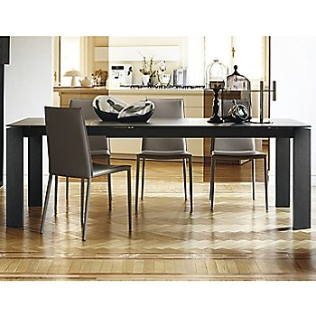 Sigma Extending Table with Boheme Dining Chair