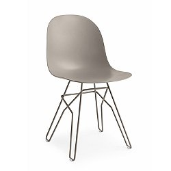 Academy Dining Chair, Metal Base