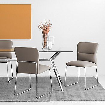 Taupe Seat, in use