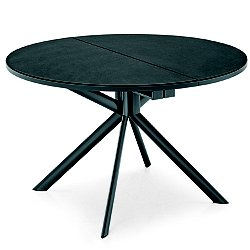 Giove Round Extending Dining Table