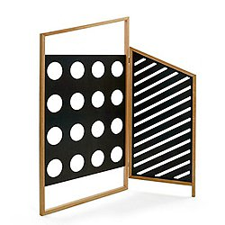 Opto 2 Panel Folding Screen
