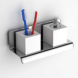 Tuy Soap Dispenser + Tooth Brush Holder