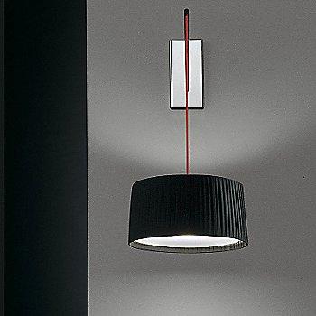 Shown lit in Black finish