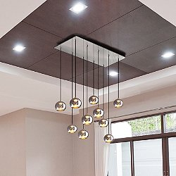 Kubric Multi Pendant Light
