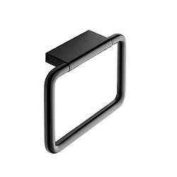 Black & White Towel Ring