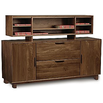 Linear Office Storage Credenza with Catalina Organizer
