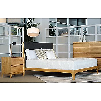 Rizma Bed with Rizma 2 Drawer and Rizma 10 Drawer