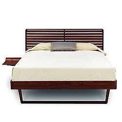 Contour Bed with Nightstand