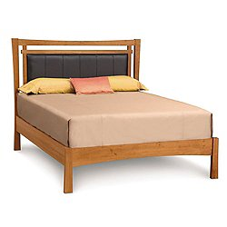 Monterey Bed with Upholstered Panel, Queen