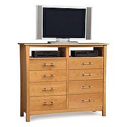 Monterey Eight-Drawer Dresser + TV Organizer