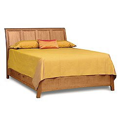 Sarah Sleigh Bed with Storage, King