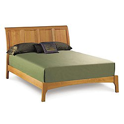 Sarah Sleigh Bed with Low Footboard, Full