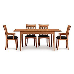Sarah Four Leg Extension Table, 66 X 38 Inches