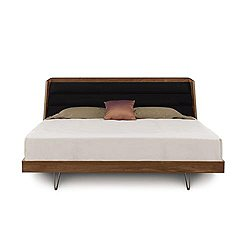 "Canto 43"" Solid Maple Bed, Queen"