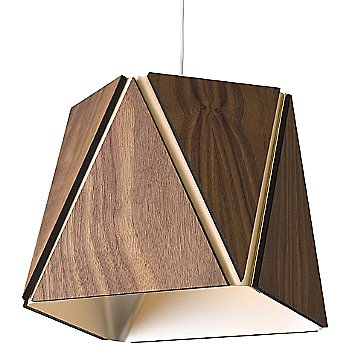 Oiled Walnut outer shade / Rose Gold inner shade