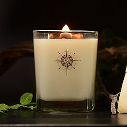 Driftwood and Clover Leaf Scented Candle