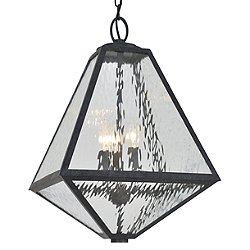 Glacier Black Charcoal Outdoor Pendant  - OPEN BOX RETURN