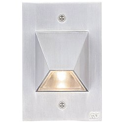 LED SS3003 Step Light (Satin Metallic) - OPEN BOX RETURN