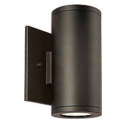 Silo Dual Wall Light (Aluminum/Bronze) - OPEN BOX RETURN